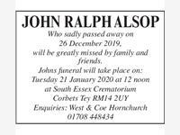 JOHN RALPH ALSPN photo