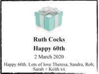 Ruth Cocks photo