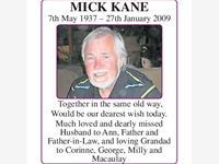 Mick Kane photo