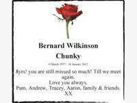 Bernard Wilkinson photo