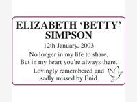 Elizabeth Simpson photo