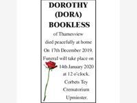 Dorothy (Dora) Bookless photo