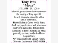 "Tony Stuart Ives ""Mona"" photo"