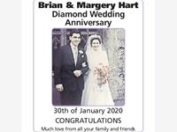 Brian and Margery Hart photo