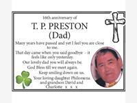 T P Preston photo