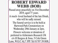 ROBERT EDWARD WEBB photo