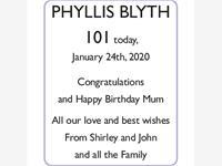 PHYLLIS BLYTH photo