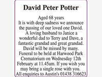 David Peter Potter  photo