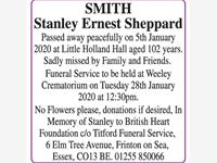 SMITH - Stanley Ernest Sheppard photo