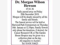 Dr Morgan Wilson Hewson photo
