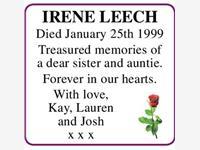 IRENE LEECH photo