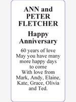 ANN and PETER FLETCHER photo