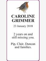CAROLINE   GRIMMER photo