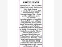 BRUCE EVANS photo