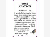 TONY CLAXTON photo