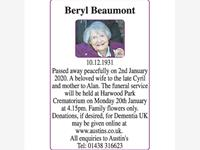 Beryl Beaumont photo