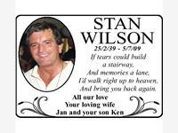 STAN WILSON photo