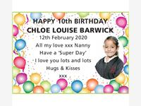 Chloe Louise Barwick photo