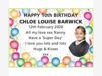 Chloe Louise Barwick photo