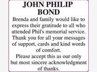 JOHN PHILIP BOND photo