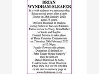 BRIAN WYNDHAM-SLEAFER photo