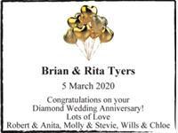 Brian & Rita Tyers photo