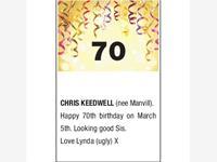 CHRIS KEEDWELL (nee Manvil) photo
