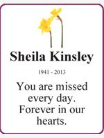 Sheila Kinsley photo
