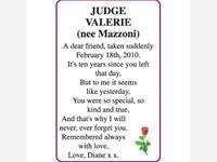 VALERIE (MAZZONI) JUDGE photo