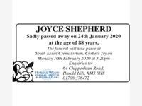 JOYCE SHEPHERD photo