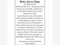 Betty Joyce Sings photo