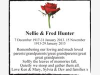 Nellie & Fred Hunter photo
