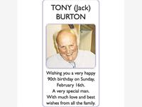 TONY (Jack) BURTON photo