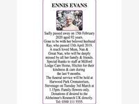 Ennis Evans photo