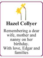 Hazel Collyer photo