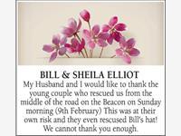 BILL & SHEILA ELLIOT photo
