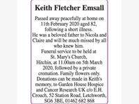 Keith Fletcher Emsall photo