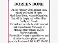Doreen Bone photo