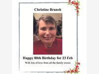 Christine Branch photo