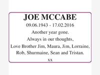 Joe McCabe photo