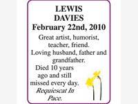 LEWIS DAVIES photo