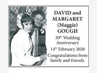 DAVID and MARGARET (Maggie) GOUGH photo