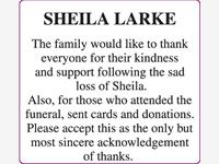 SHEILA LARKE photo