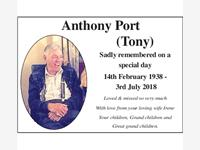TONY PORT photo