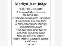 Marilyn Jean Judge photo