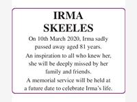 Irma Skeeels photo