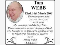TOM WEBB photo