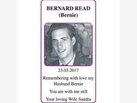BERNARD READ (Bernie) photo