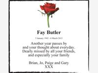 Fay Butler photo
