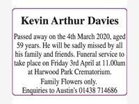 Kevin Arthur Davies photo